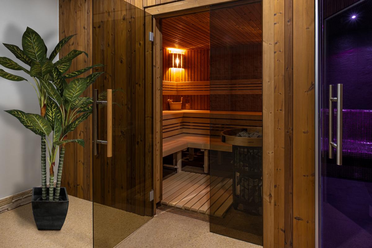sauna a pára
